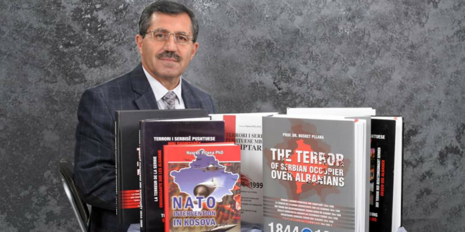 """Libri i gazetarit të luftës, Nusret Pllana """"NATO Intervention in Kosova"""", vendoset në Bibliotekën Botërore të NATO-s"""
