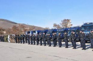 Në Glloboçicë realizohet sot një ushtrim i përbashkët operativo-taktik i Policisë se Kosovës dhe Maqedonisë se Veriut