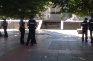 Filloi të shtohet prania e policisë afër objektit të Qeverisë dhe Kuvendit