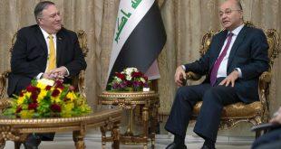Sekretari amerikan i Shtetit, Mike Pompeo ka realizuar një vizitë të papritur në Bagdad