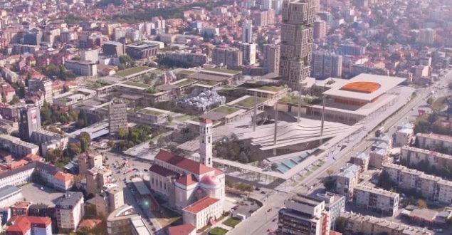 Behxhet Pacolli prezanton projektin për Prishtinën moderne