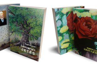 """Përurohen librat e Martin Çunit, """"Universi i Jetës"""" dhe """"Lulet e jetës"""""""
