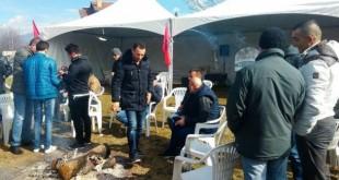 Protestë në tenda