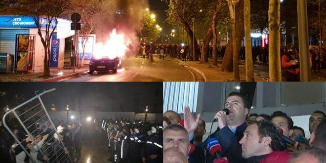 Protesta - Tiranë
