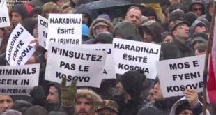 Protesta per Ramushin