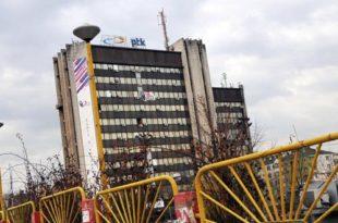 Federata Sindikale e PTK-së proteston sot para objektit qendror në Dardani kundër vazhdimit të kontratës me Z-Mobile