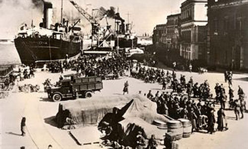 Më 7 prill të vitit 1939 Italia fashiste e Benito Musolinit filloi pushtimin ushtarak të Shqipërisë