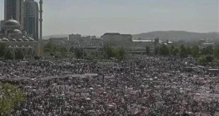 Më tepër se 1 milionë çeçenë protestuan në Grozni kundër gjenocidit dhe shfarosjes masive të myslimanëve në Mianmar