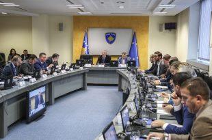 Qeveria e Kosovës e miraton propozim-vendimin për kursime dhe ndarje buxhetore të organizatave buxhetore