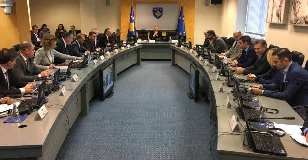Qeveria e Kosovës mbanë mbledhjen e radhës të drejtuar nga kryeministri Ramush Haradinaj