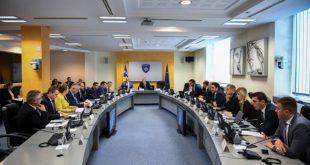 Qeveria e Kosovës e drejtuar nga kryeministri Ramush Haradinaj do të mblidhet sot në orën 13:00
