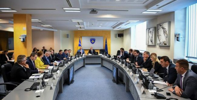 Mblidhet sot Qeveria e Kosovës në të cilën do të marr ojesë edhe kryeministri i vendit, Ramush Haradinaj