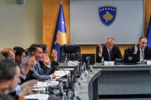 Shpenzimet e ish-kryeministrit, Ramush Haradinaj dhe ish-ministrave të Kosovës pas dorëheqjes më 19 korrik 2019