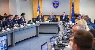 Zyra e Kryeministrit bënë të ditur se sot me fillim prej orës 14:00 do të mblidhet Qeveria e Kosovës