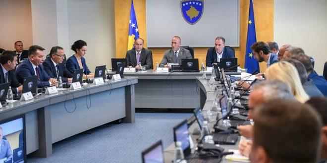 Qeveria e Kosovës do të mblidhet sot më fillim nga ora 14:00 ku do në rend të ditës, janë gjithsej katërmbëdhjetë pika