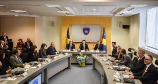 Qeveria e Kosovës bënë të ditur se sot do të mblidhet por nuk ka dhënë detaje për rendin e ditës