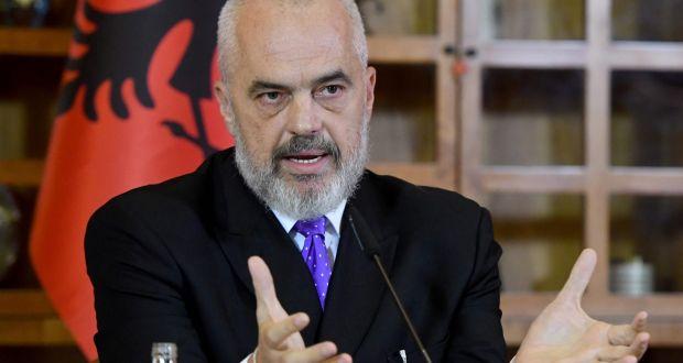 Edi Rama: Festën e Pavarësisë ia uroj Hashim Thaçit dhe bashkëluftëtarëve të tij, që sot nuk gjenden në shtëpi