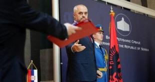 Kryeministri shqiptar, Edi Rama: Zgjidhja e problemit të Kosovës është e thjeshtë, njohja e plotë e Republikës së Kosovës nga Serbia