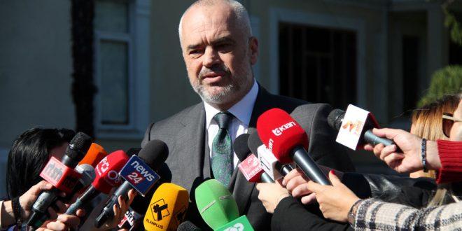 Edi Rama: Një nga shembujt më flagrantë për mungesën e kapacitetit për të mbajtur fjalën nga BE është rasti i Kosovës
