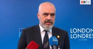 Rama: Përtej dallimeve dhe kundërshtive, Evropa është e gjitha e bashkuar t'i mbështesë shqiptarët