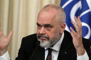 Kryeministri shqiptar Edi Rama paralajmëron sërish masa kufizuese nëse rritet numri i të infektuarve me virusin korona