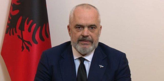 """Intervista e kryeministrit të Shqipërisë dhe kryetarit të Partisë Socialste, Edi Rama në """"Top Channel"""""""