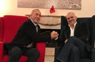 Ramush Haradinaj dhe Edi Rama