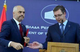 Edi Rama: Qëndrimi im është që Serbia sa më parë ta njohë pavarësinë e Kosovës