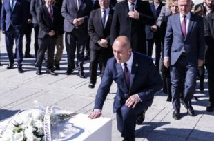 Ramush Haradinaj: E kemi për detyrë që t'ia lejojmë popullit tonë që vendos për unionin Kosovë - Shqipëri
