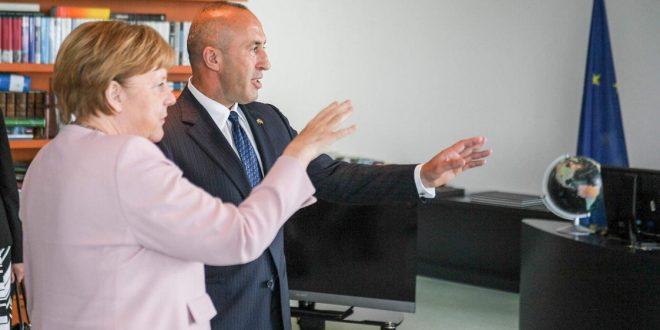 Kryeministri Haradinaj e mirëpret deklaratën e Kancelares së Gjermanisë, Angela Merkel dhe thotë se Kosova është gati
