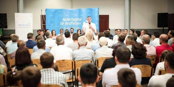 Kadri Veseli: Entuziazmin e fitores që po afrohet e kam ndier fortë në të gjitha takimet që kam pasur me qytetarët