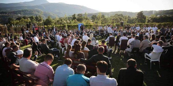 Veseli: Qytetarët po e presin Dekadën e Re të zhvillimit, e cila do të ndodhë kur PDK-ja të udhëheq me Qeverinë e Kosovës