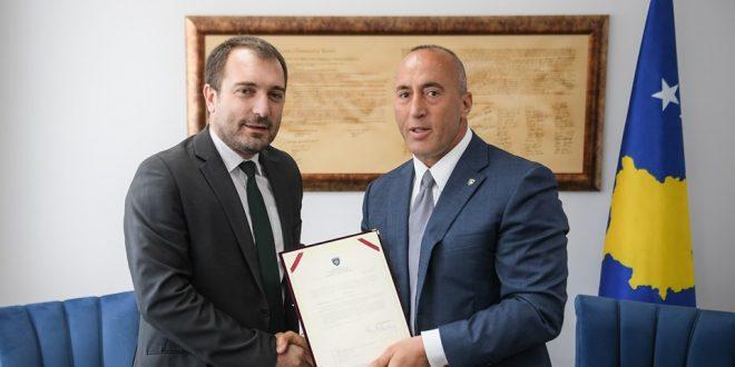 Muzafer Shala është emëruar sot nga kryeministri Haradinaj ministër i Inovacionit dhe Ndërmarrësisë