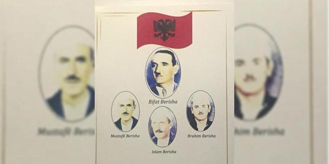 Sot në 70-vjetorin e rënies përkujtohen dëshmorët: Rifat Berisha, Mustafë Berisha Brahim Berisha e Islam Berisha