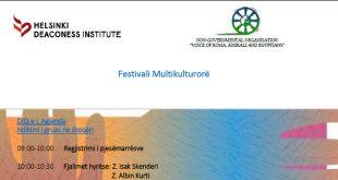 """Organizata """"Voice of Roma, Ashkali and Egyptians"""" VoRAE, më 13 dhe 14 nëntor mbanë Festivalin Multikulturor"""
