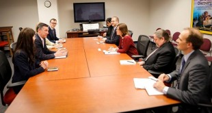 Kryekuvendari Veseli bisedoi me zëvendës-administratoren e USAID-it për Evropë dhe Euroazi, Susan Kosinski Fritz