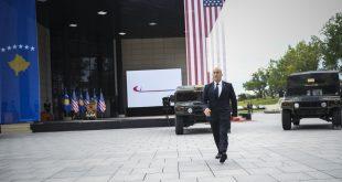 Haradinaj merr pjesë në ceremoninë e blerjes së automjeteve multi funksionale ushtarake nga Qeveria për FSK-në