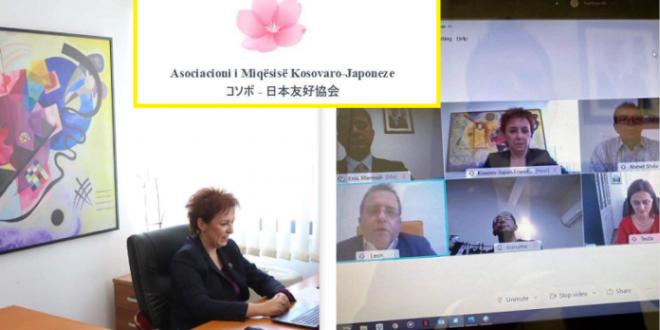 """Mbështetur nga Ambasada e Kosovës në Japoni dhe MPJD mbahet diskutimi virtual """"Miqësia ndërmjet Kosovës dhe Japonisë"""