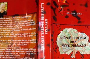 Doli nga shtypi përmbledhja poetike Rrënjët trungu dhe fryti pellazg i autorit, Mr. Salih Salihu