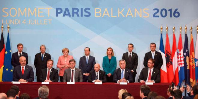 Në Paris është mbajtur takimi i disa kryeministrave të vendeve të Ballkanit dhe zyrtarëve të lartë të BE-së
