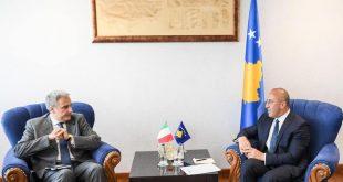 Kryeministri në detyrë i Kosovës Ramush Haradinaj, ka takuar ambasadorin e Italisë në Kosovë Piero Cristoforo Sardi