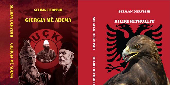 """Dolën nga shtypi librat: """"Gjergja me Adema"""" dhe """"Riliri i Ritrollit"""", të autorit Selman Dervishi"""