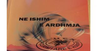 """Me 07 qershor 2019 në Prizren promovohet libri """"Ne ishim e ARDHMJA"""" e autorit ish-luftëtarit të lirisë, Sadik Halitjaha"""