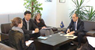 MMPH: Ferat Shala priti ne takim ekipin mbikëqyrës të Bankës Botërore