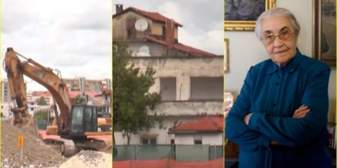 Rrënohet edhe shtëpia, në Pularinë e Tiranës, ku kishte jetuar, Nexhmie Hoxha nga viti 1997 deri në shkurt të vitit 2020