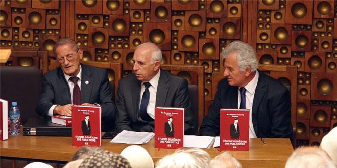 """U përurua libri, """"Studime gjuhësore dhe publicistike"""" i autorit, Sheremet Krasniqi"""
