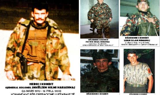 19 vjet nga rënia e Shkëlzen Haradinajt, Hasim Halilajt, Fatmir Nimanajt dhe Luan Nimanajt