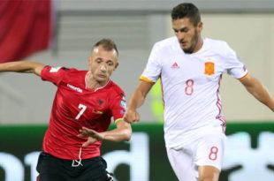 Spanja ka mundur Shqipërinë me rezultat 2:0