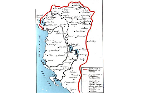 Shqiperia Etnike