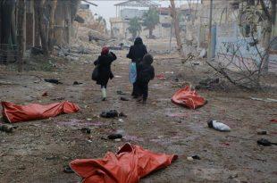 Gjatë dy muajve të fundit nga sulmet e ushtrisë ruse në Siri janë vrarë vrarë 544 civilë dhe janë plagosur 2 mijë të tjerë